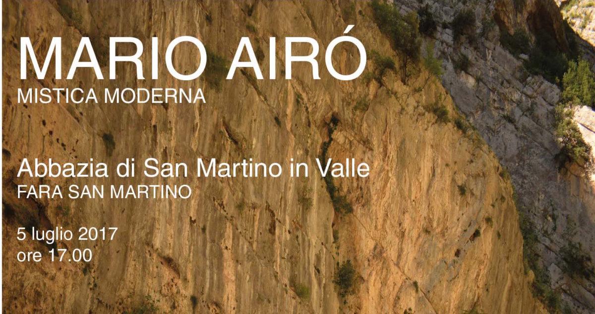 Mario Airò – 'MISTICA MODERNA'- Abbazia di San Martino in Valle, Fara San Martino