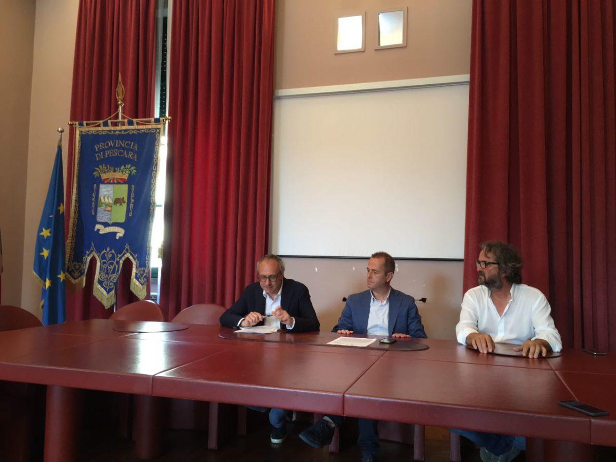 TG Abruzzo: Conferenza stampa di presentazione Eremi Arte 2017