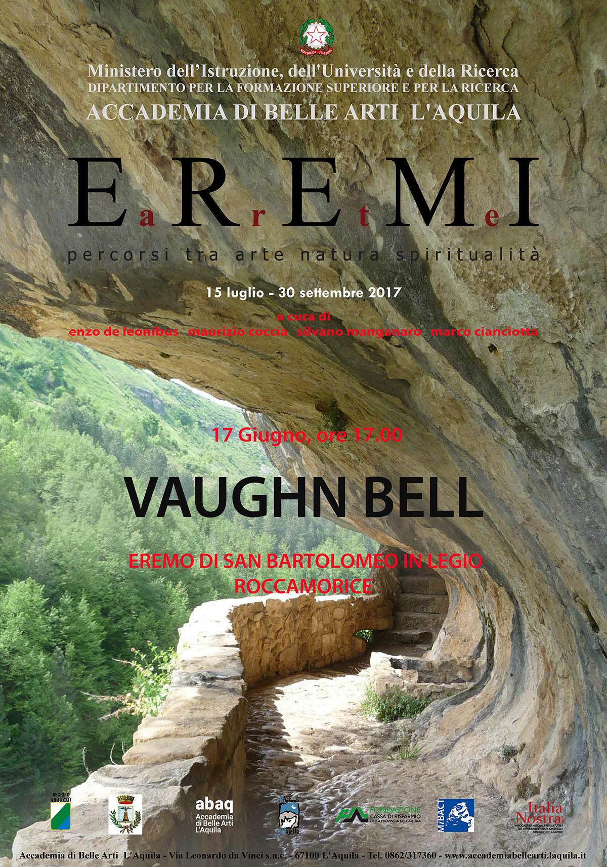 Vaughn Bell – 17 giugno Roccamorice (PE)